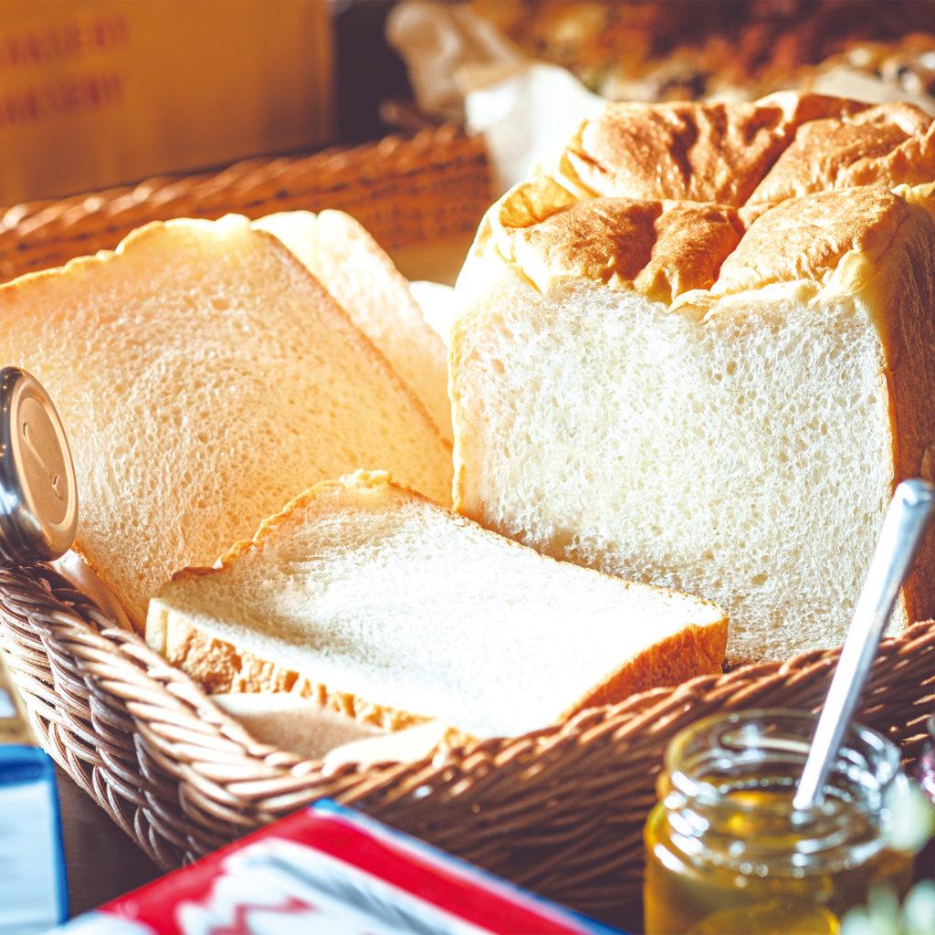 ゆめちから もちもち生食パン<br> [小麦・乳]